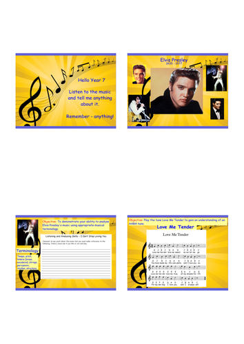 Elvis Presley - Love Me Tender - 8 engaging and fun lessons :-)