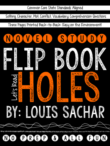 Holes book report setting