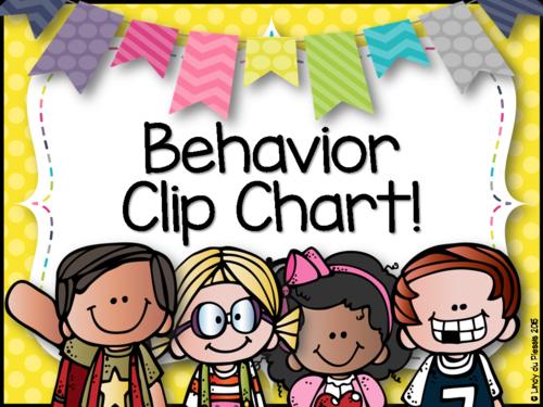 Behavior Clip Chart by lindylovestoteach - Teaching ...