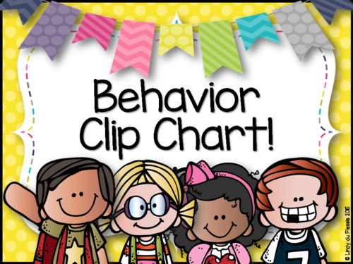 Behavior Clip Chart by lindylovestoteach   Teaching Resources