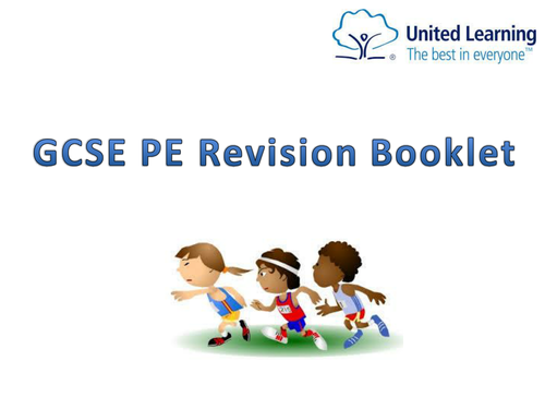 AQA GCSE PE Revision Booklet all topics