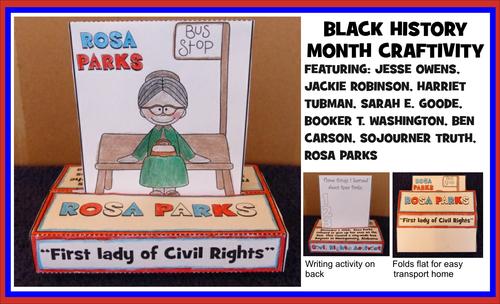 Black History Month POP-UP Craftivity