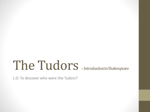 The Tudors Research Project