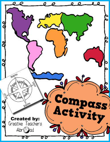 Compass Activity - Printable