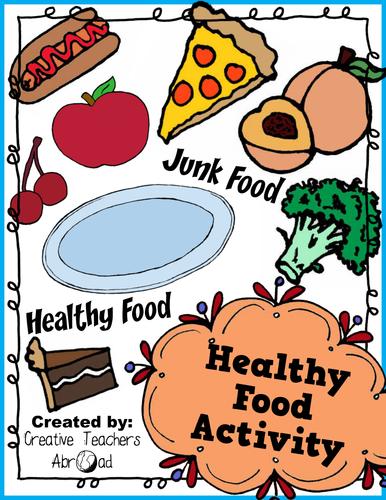 Healthy Food Activity - Printable