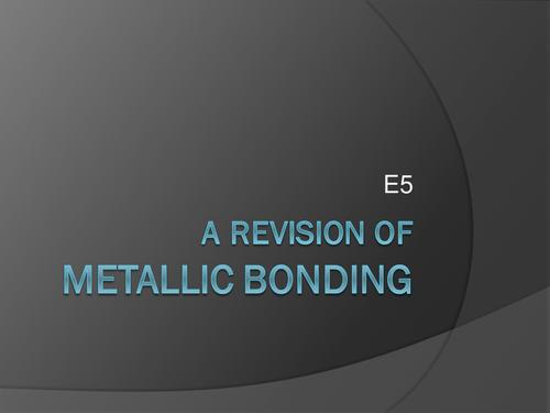 3 Bonding  PPTs  (Ionic and Metallic)