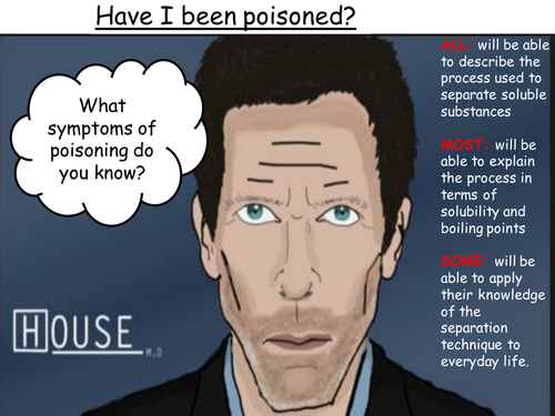 Simple distillation: Have I been poisoned?
