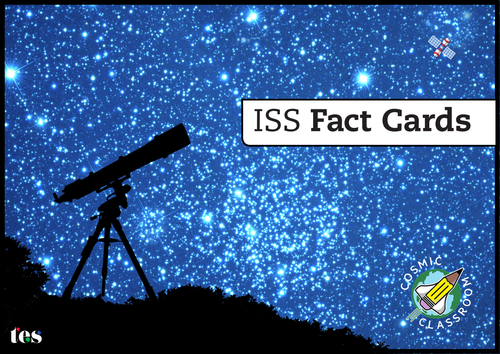 Cosmic Classroom Space Facts - the solar system, the International Space Station (ISS) and glossary