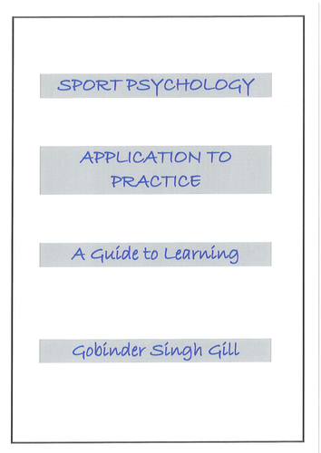 Sport Psychology Handbook