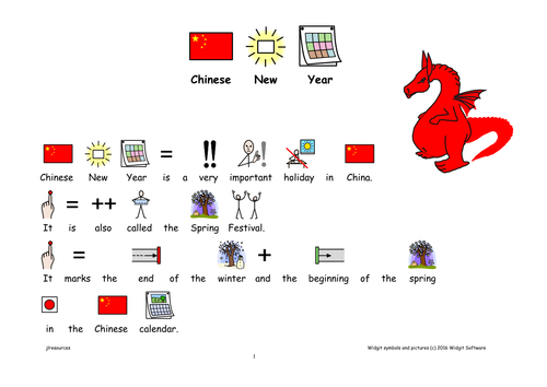 Chinese New Year with Symbol Support