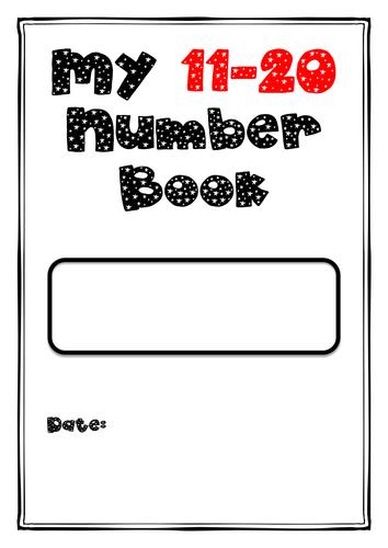 11-20 Number practice Book