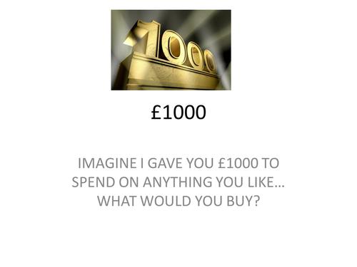 PSHE £1000