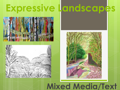 GCSE - Expressive Landscapes - Term SOW
