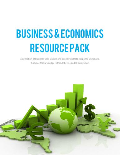 Business & Economics Resource Pack