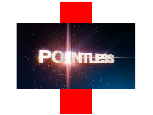 Pointless - French cognates