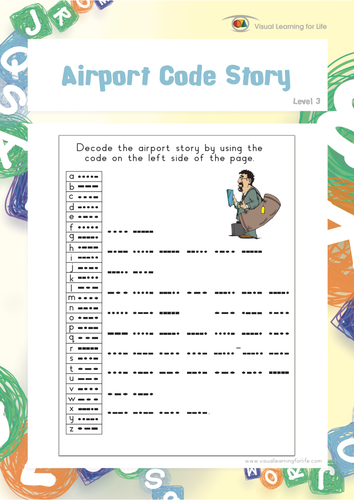 airport code story by visuallearningforlife teaching resources tes
