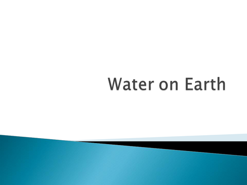 Water on Earth GCSE Astronomy