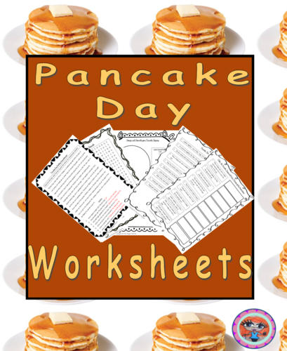 Pancake Day Worksheets