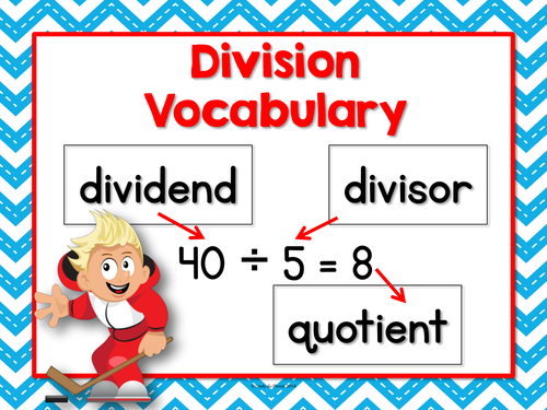 Division Anchor Chart (FREE)