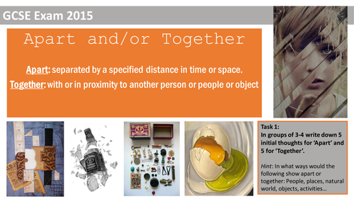 Apart and/or Together Exam project
