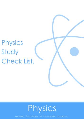 Nubila Education | GCSE Physics | Study Check List