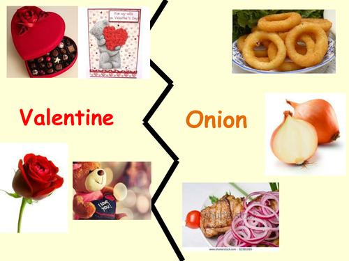 Valentine by Carol Ann Duffy Lesson