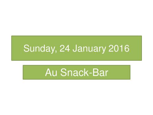 Au-Snack Bar