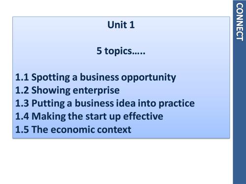 Business Studies Unit 1 Crash course - perfect exam prep