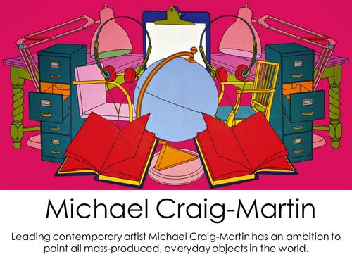 Michael Craig-Martin GCSE PowerPoint