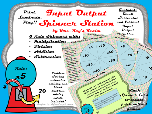 Input Output Spinner Station