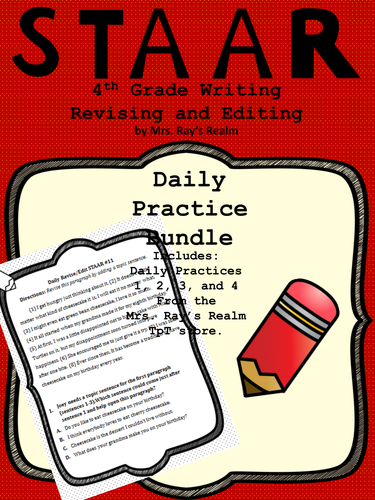 STAAR Writing Daily Practice Bundle