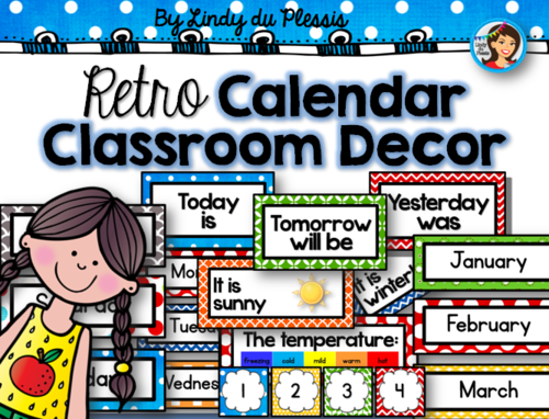 Calendar Classroom Decor