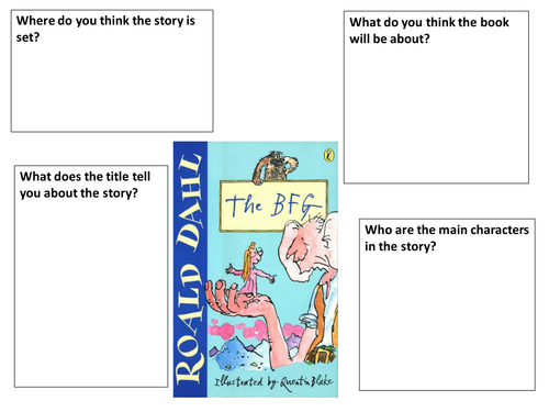 Printables Bfg Worksheets responses to bfg worksheet by ljj290488 teaching resources tes