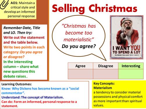 Christmas Carol : Context