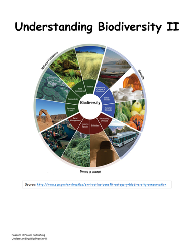Understanding Biodiversity II
