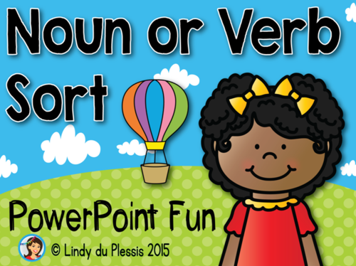 Nouns or Verbs PowerPoint Game