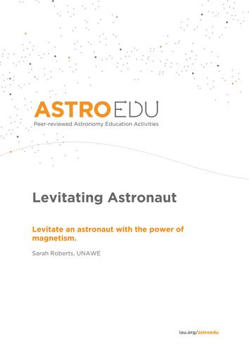 Levitating Astronaut