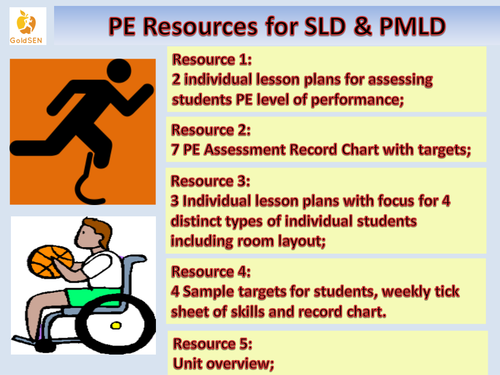 Physical Education: SLD & PMLD