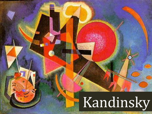 Wassily Kandinsky Abstract Art To Music Term Sow