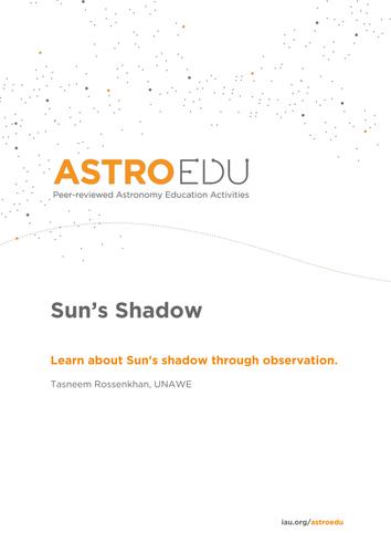 Sun's Shadow