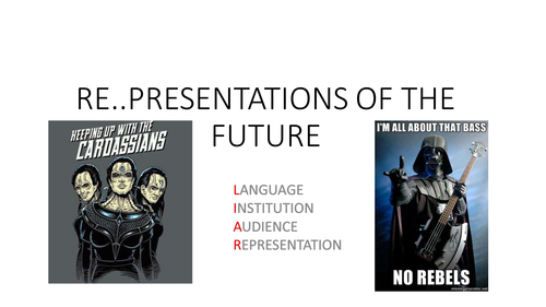 Re..presentations of the future