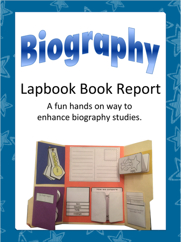 Biography Lap Book and Mini-Books