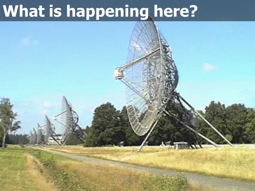Search for Extraterrestrial Intelligence SETI - Aliens and the Drake Equation