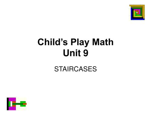 Child's Play Maths:  Video Units 9 - 12