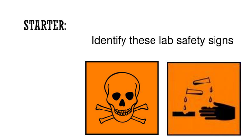 lab safety lesson