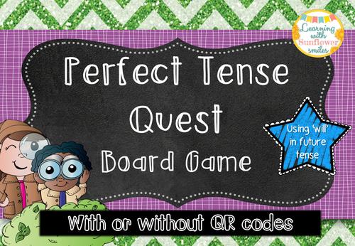 Perfect Tense Board Game