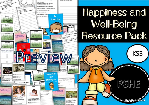 Happiness and Well-Being (PSHE Unit of Work- KS3)