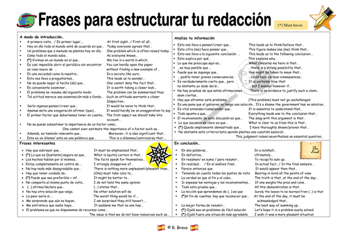 as spanish essay writing toolkit accuracy top tips research  as 2 spanish essay writing toolkit accuracy top tips research based discursive translation by profesoraspanish teaching resources tes
