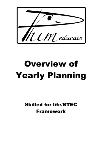 BTEC/ SKILLED FOR LIFE CENTRE HANDBOOK for Quality Nominees