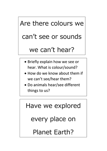 What's left to explore?